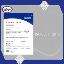 دریافت گواهینامه ISO 9001:2015 توسط شرکت نفت بهران