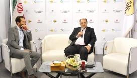 مصاحبه اختصاصی مدیر عامل شرکت نفت بهران در نمایشگاه بین المللی بورس، بانک و بیمه (فاینکس 2017)